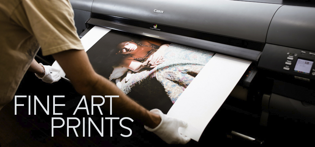 fine art print coming out of cannon printer
