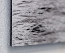 Dibond brushed aluminum